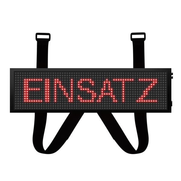LED Frontwarnsystem/Einsatzschild Multicolor WIFI